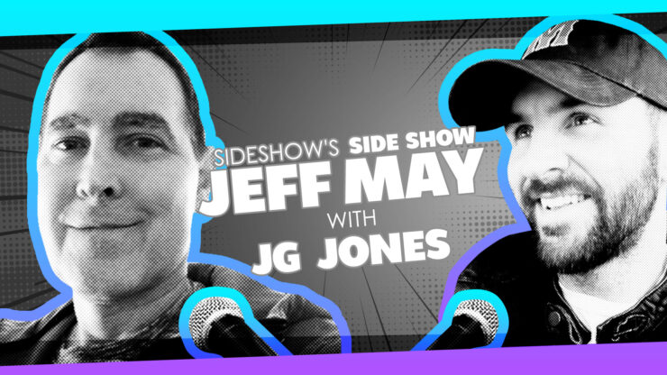 Con Friends, Covers vs Interiors, and Triumph Over a Rare Blood Cancer with DC Comics Artist JG Jones on Sideshow's Side Show with Jeff May