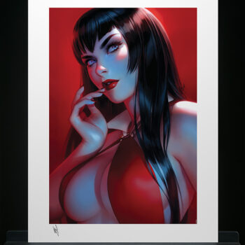 Vampirella #7 Fine Art Print by illustrator Warren Louw