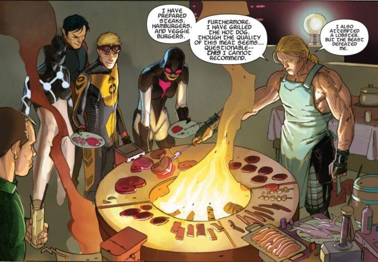 Avengers #24 (Marvel Comics) Writer: Jonathan Hickman Artist: Esad Ribic