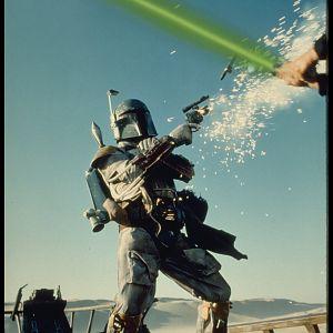 Boba Fett vs Luke Skywalker, Return of the Jedi