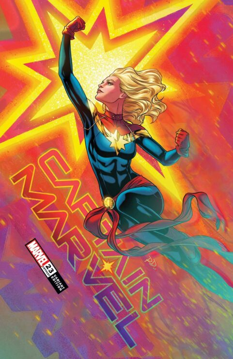 Captain Marvel #23, Marvel Comics