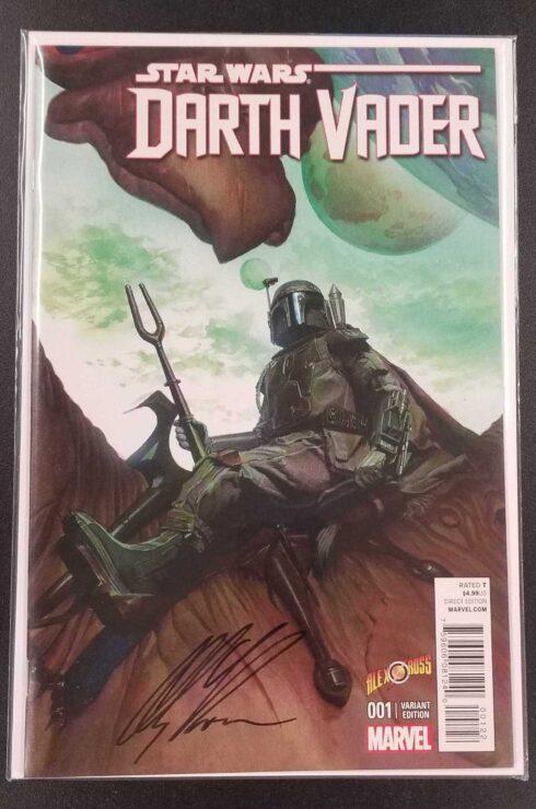Marvel's Darth Vader #1 Alex Ross Variant, Signed
