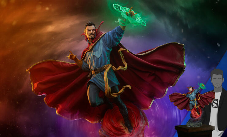 Final Product Photos of the Doctor Strange Maquette