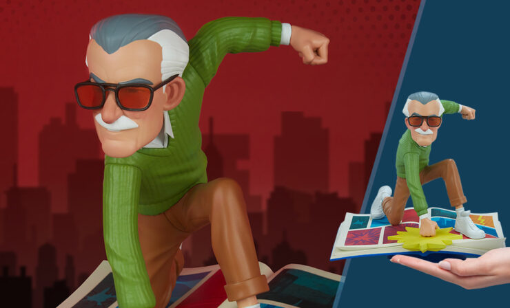 The Marvelous Stan Lee Designer Collectible Figure by Artist Gabriel Soares