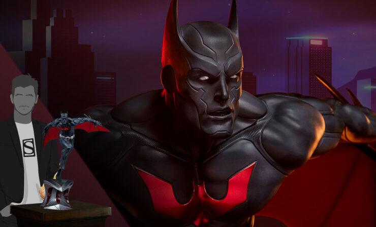 Final Product Photos of the Batman Beyond Premium Format™ Figure