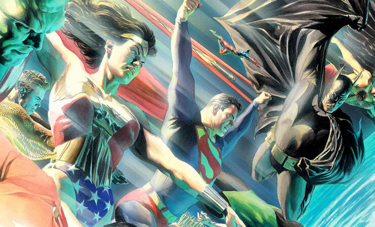 The Protectors of the Universe Fine Art Lithograph by Alex Ross Art
