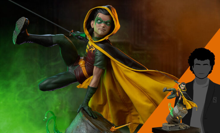 Final Product Photos of the Robin Premium Format™ Figure