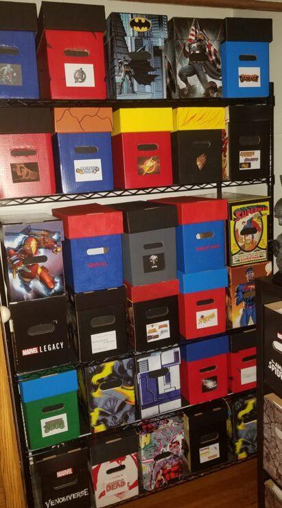 Shaun K.'s Comic Boxes