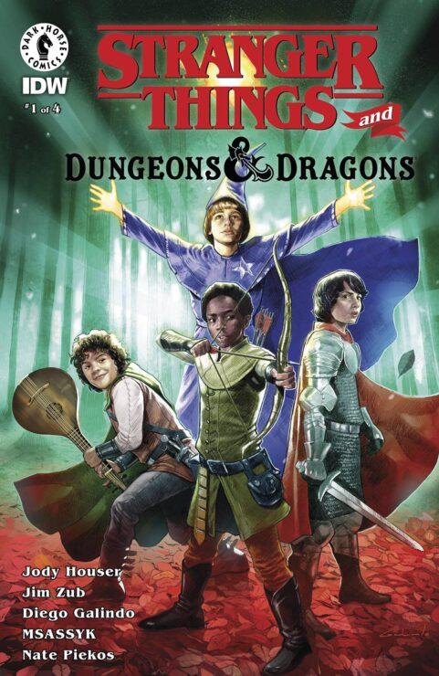 STRANGER THINGS: DUNGEONS & DRAGONS #1 (Dark Horse Comics/IDW)