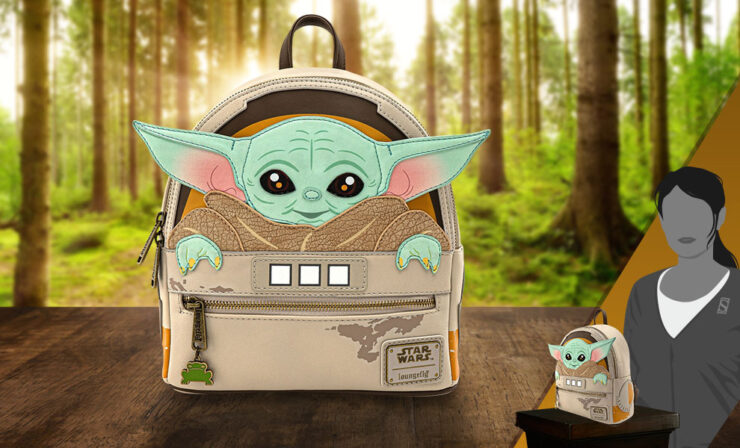 The Child Cradle Mini Backpack (Loungefly)