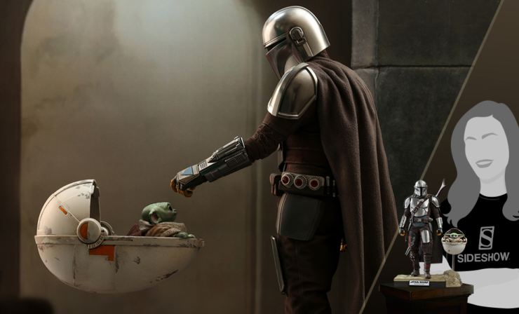 The Mandalorian and The Child Deluxe Sixth Scale Set by Hot Toys