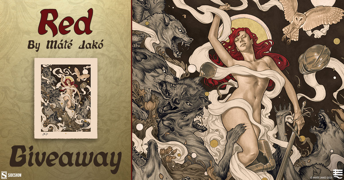 Red Fine Art Print Giveaway