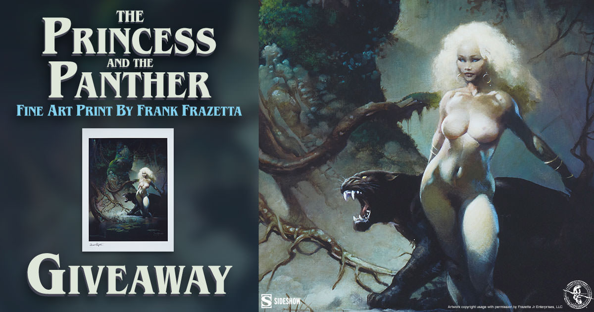 The Princess and the Panther Fine Art Print Giveaway