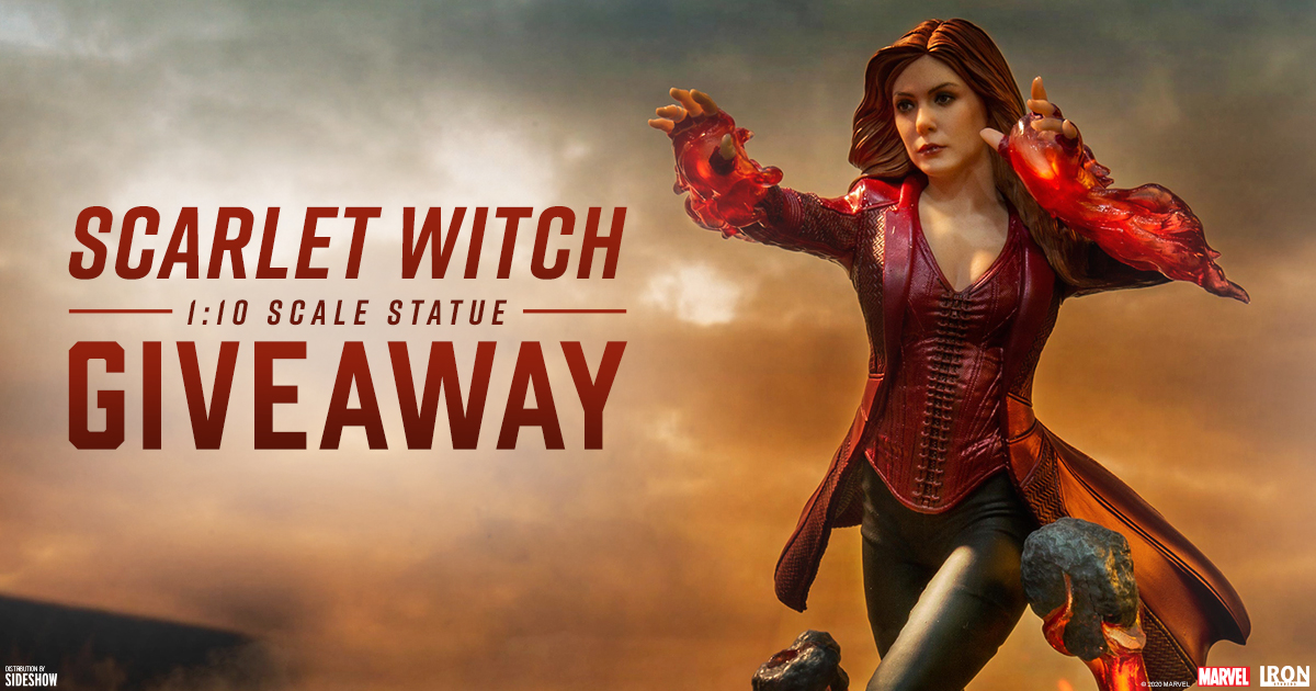 Scarlet Witch Statue Newsletter Giveaway