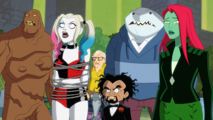 Still from DC's animated series Harley Quinn.