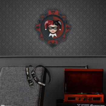 Harley Quinn Wall Hanging Xhanthi Atomic Misfit Collectibles 5