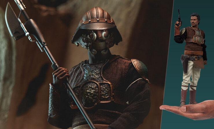 Final Product Photos of the Lando Calrissian Skiff Guard Version Sixth Scale Figure