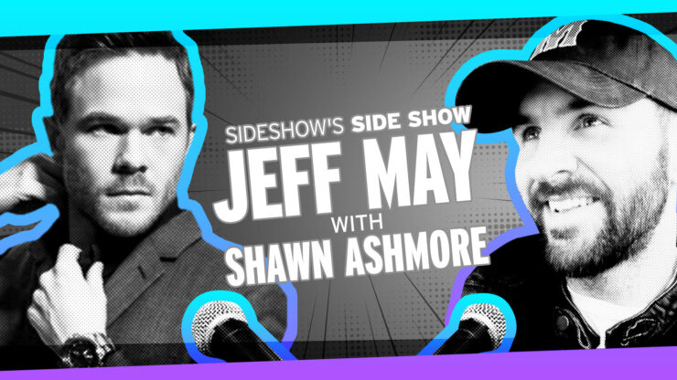 Mega-Sized Episode with Special Guest Shawn Ashmore on Sideshow's Side Show with Jeff May