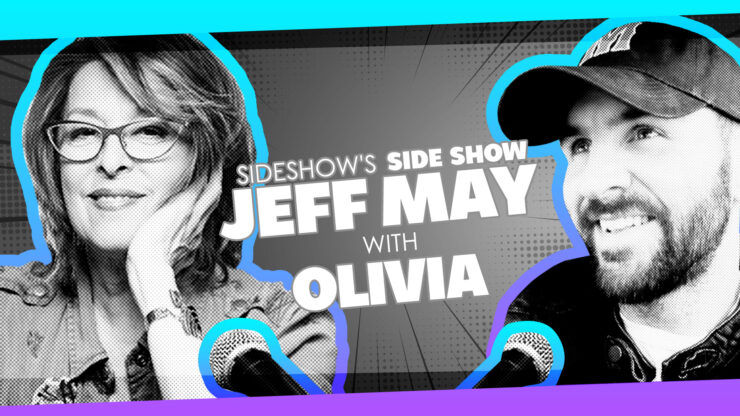 Iconic Pinup Work, Pop Culture, Playboy, and More with Legendary Artist Olivia on Sideshow's Side Show with Jeff May