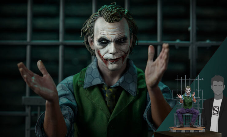 Final Product Photos of the The Joker Premium Format™ Figure