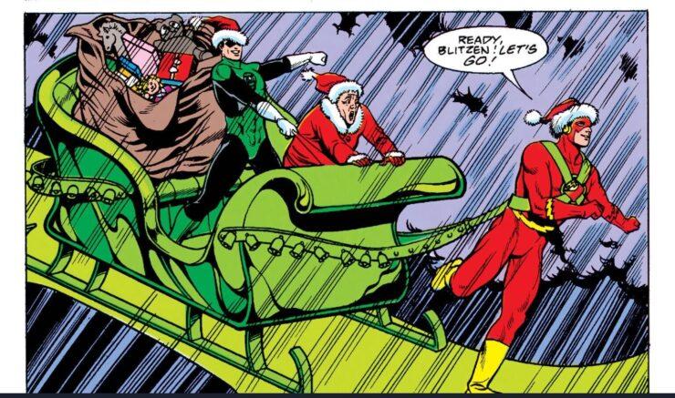 Christmas with the Superheroes #2 (DC Comics)