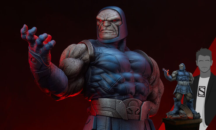 The Darkseid Maquette