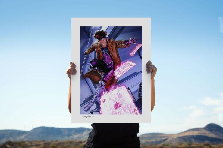 The Gambit Fine Art Print by Mike Mayhew