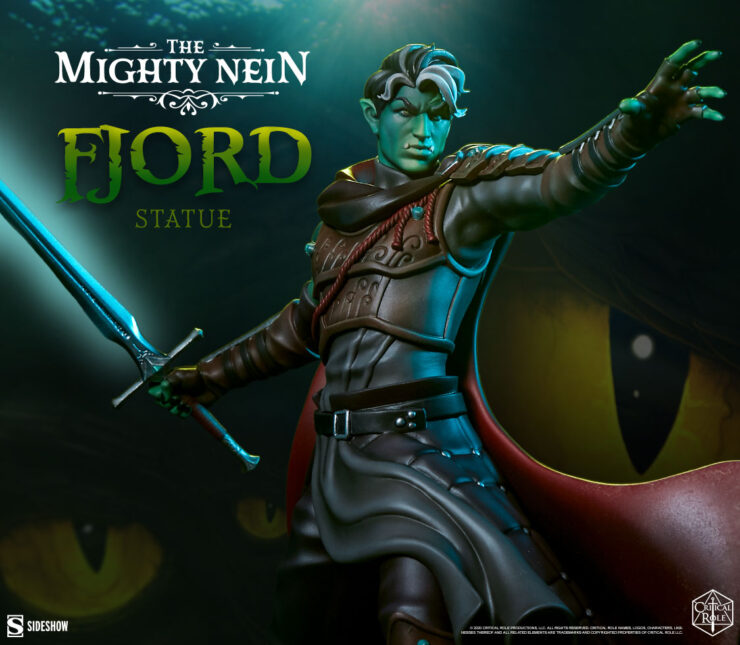 Critical Role- Fjord: The Mighty Nein Statue