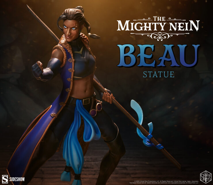 Critical Role- Beau: The Mighty Nein Statue