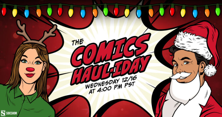 Holiday 2020 Comic Book Gift Guide- The Comics Haul-iday Special!