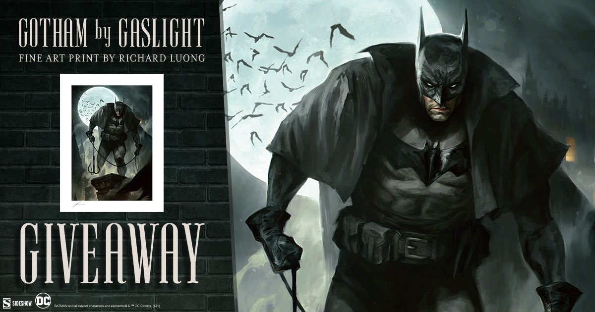 Gotham by Gaslight Fine Art Print Giveaway