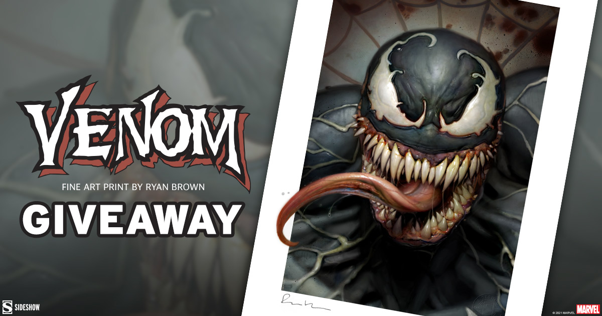 Venom Fine Art Print Giveaway