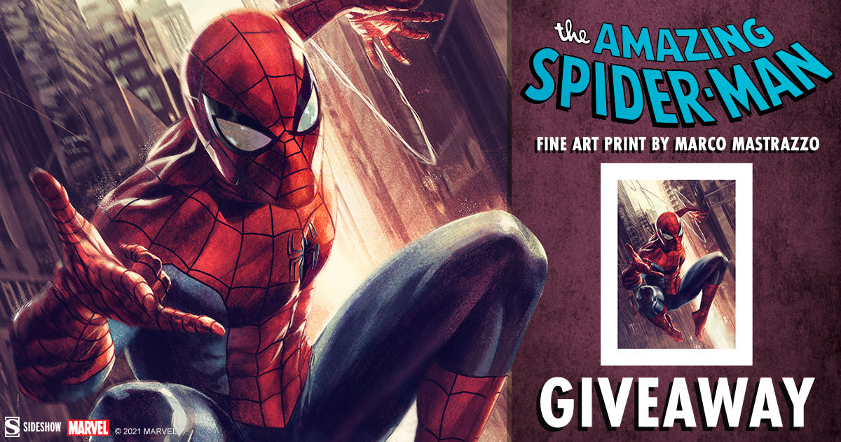 The Amazing Spider-Man Fine Art Print Giveaway