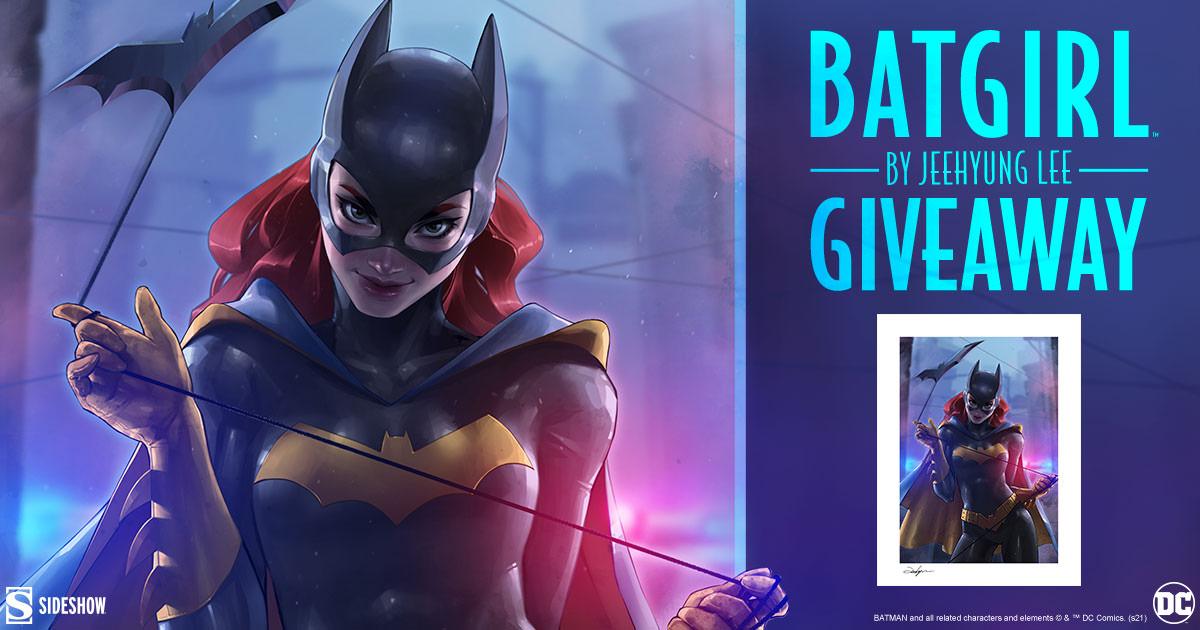 Batgirl Fine Art Print Giveaway