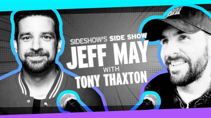 Star Wars Music, Bizarre Albums, Meeting Muppets, and more with Musician/Host Tony Thaxton of Sideshow's Side Show with Jeff May