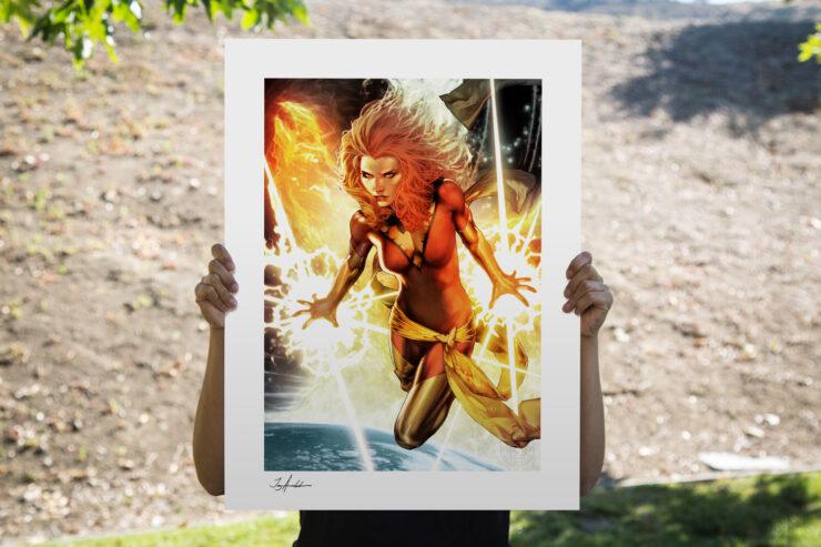 The Dark Phoenix Fine Art Print by Comic Book Artist Jay Anacleto
