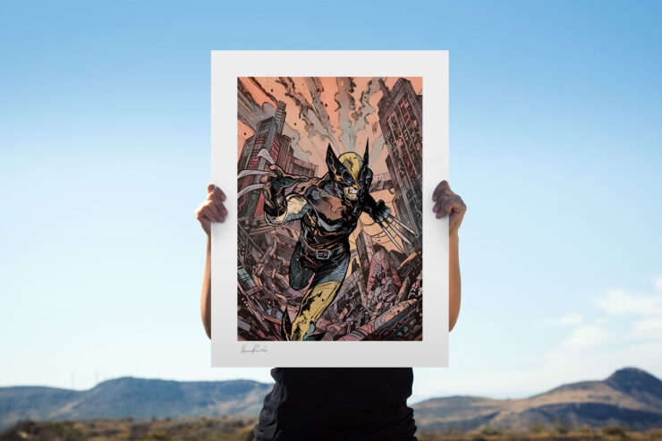 The Wolverine Fine Art Print by Artist Vincenzo Riccardi