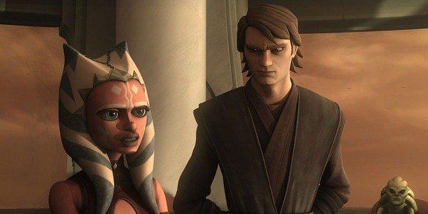 Ahsoka and her master, Anakin Skywalker