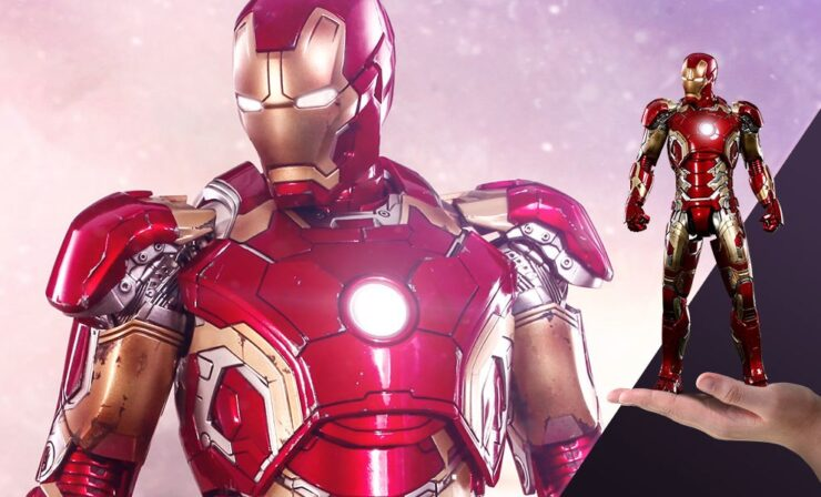 Iron Man Mark XLIII Sixth Scale Figure