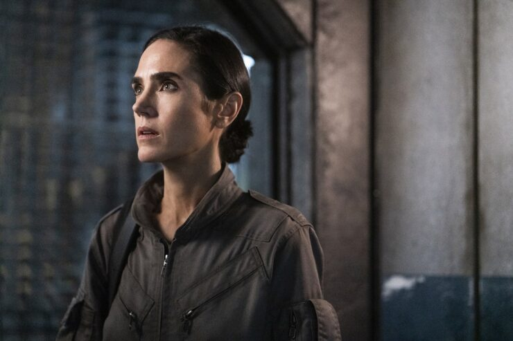 Still of Jennifer Connelly in Snowpiercer.
