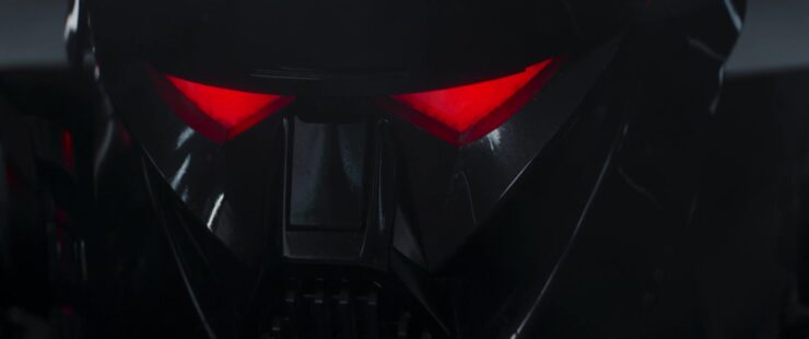 Dark Trooper Portrait Close Up