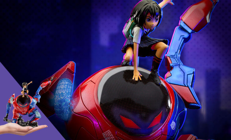 Peni Parker and SP//dr Deluxe Statue
