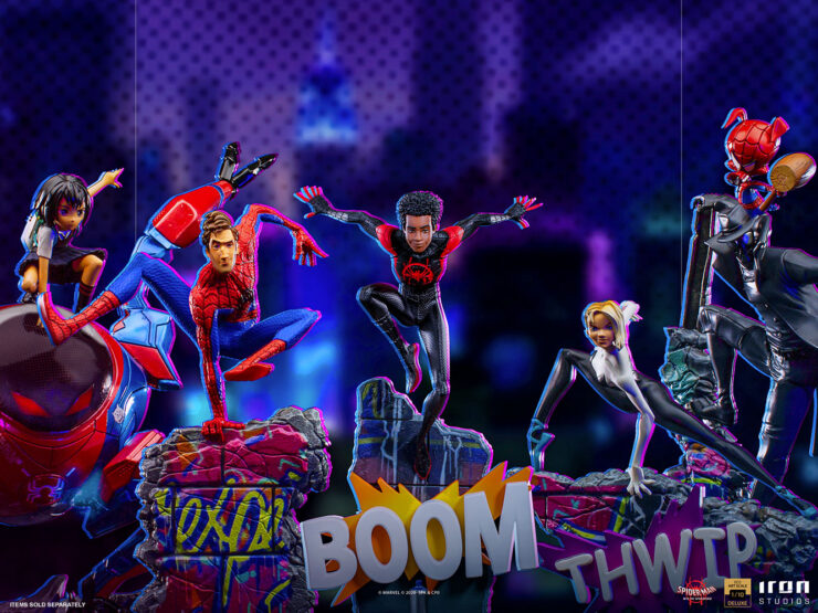 Into the Spider-Verse Statue Collection