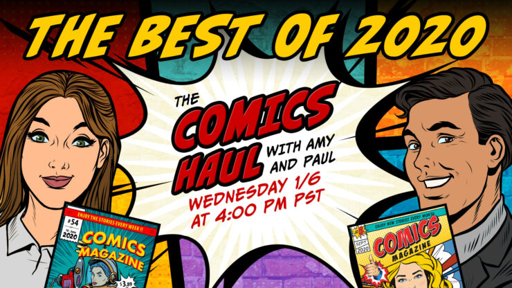 The Best Comics of 2020 as Voted By You!- The Comics Haul with Amy and Paul