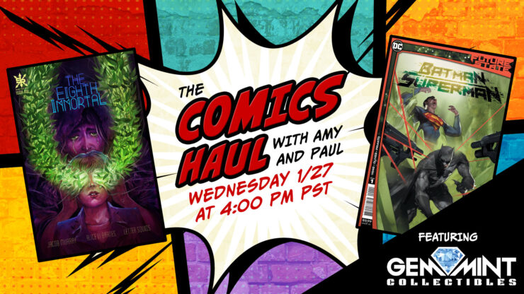 Gem Mint Collectibles Joins for a Special Episode of The Comics Haul with Amy and Paul: January 27th, 2021