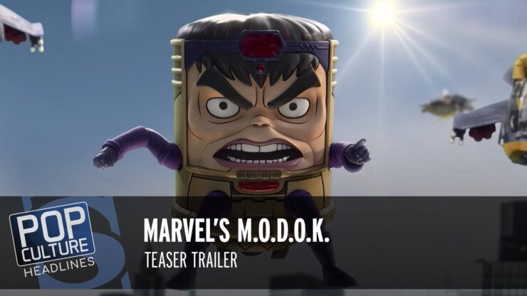 Marvel's M.O.D.O.K. Teaser Trailer, The Falcon and The Winter Solider Episode Count, and more!