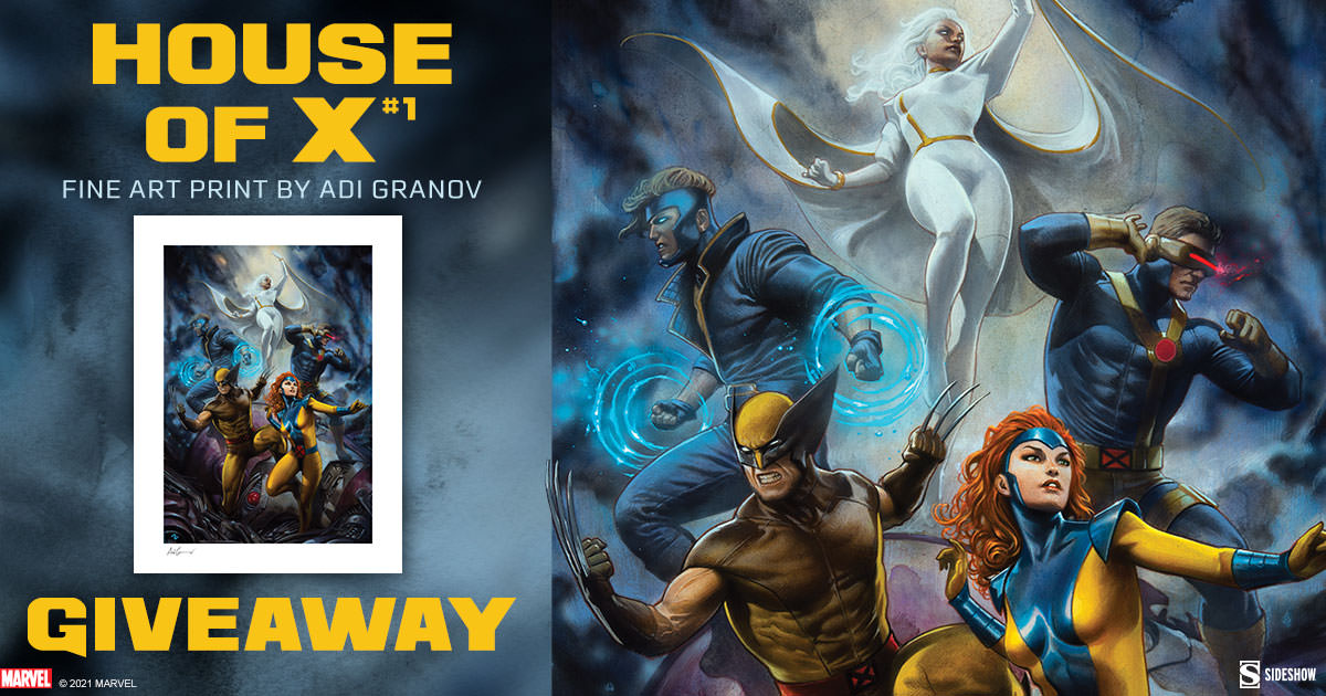 House of X #1 Fine Art Print Giveaway