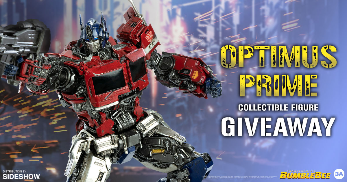 Optimus Prime Collectible Figure Newsletter Giveaway