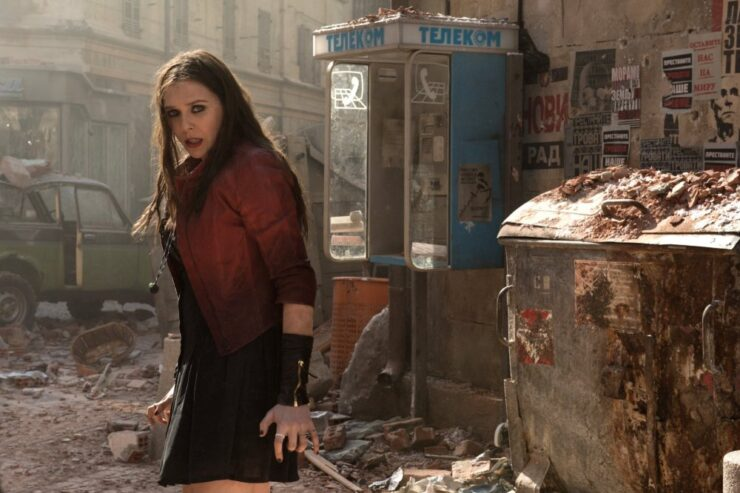 Elizabeth Olson as Scarlet Witch in Age of Ultron
