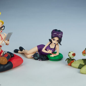 Catwoman, Harley Quinn, and Poison Ivy: Sleepover Sirens Designer Collectible Toy Set by Artist Cameron Scott Davis